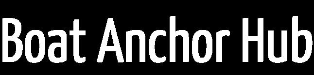 Boat Anchor Hub